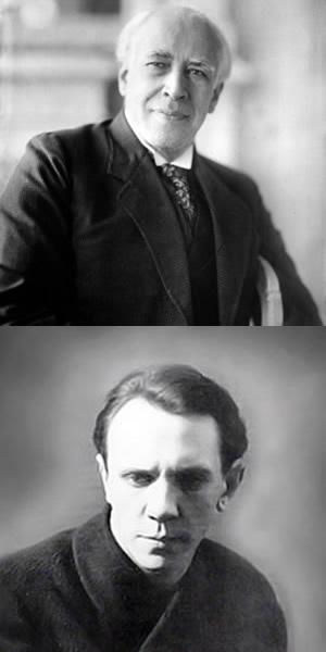 スタニスラフスキーとマイケル・チェーホフ